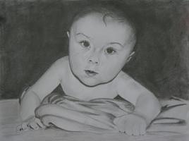 Babyportrait, Portrait